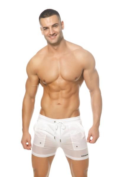 Babylon Shorts White